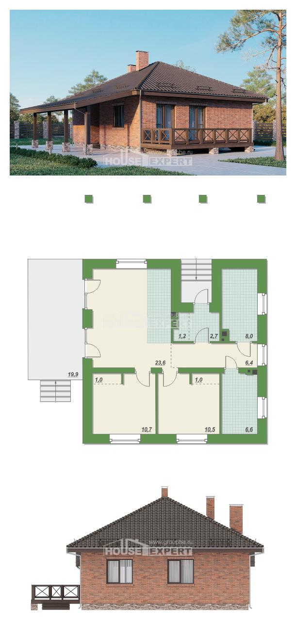 Проект дома 070-006-Л   House Expert
