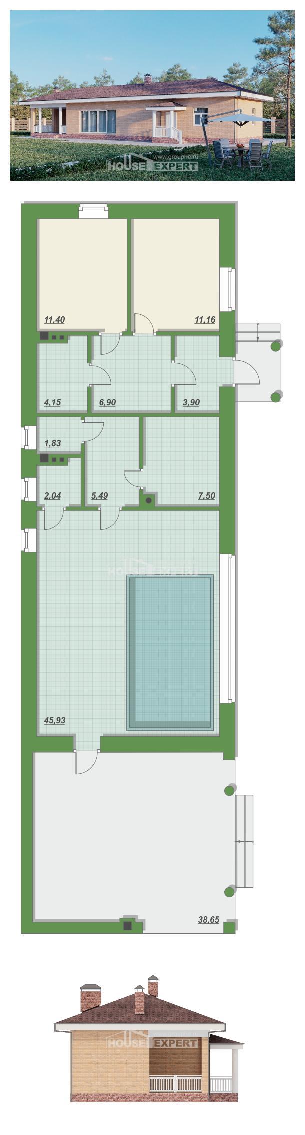 Проект дома 110-006-Л   House Expert