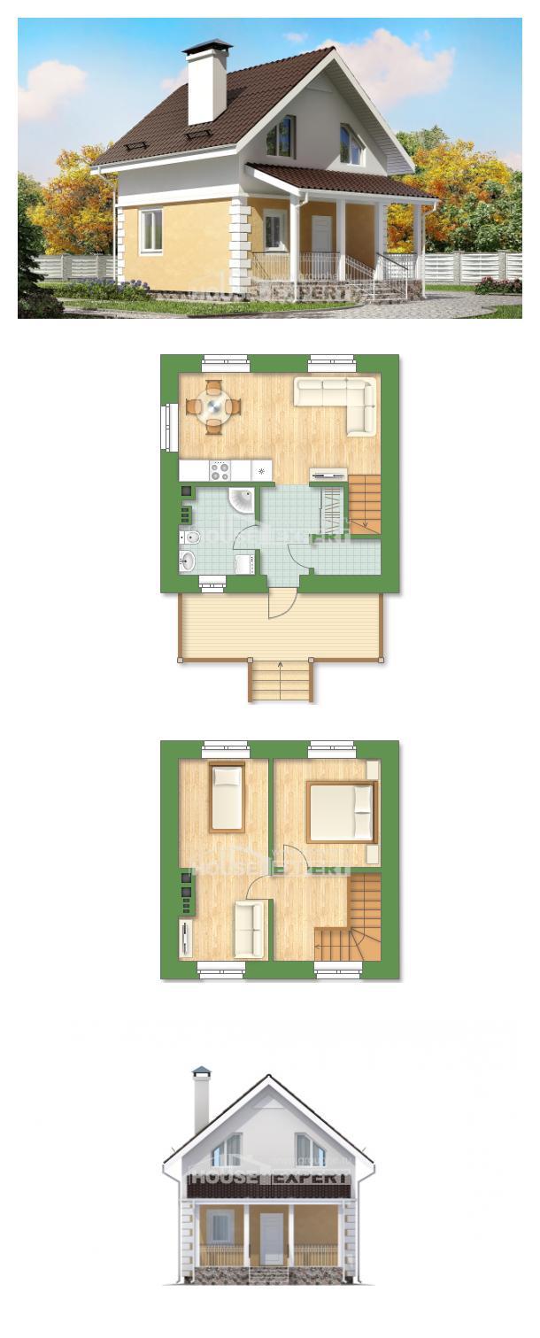 Проект дома 070-002-П   House Expert