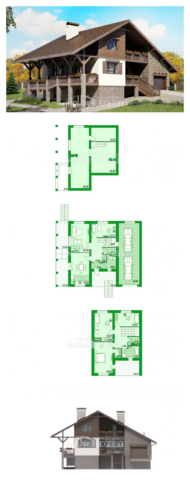 Проект дома 300-003-П | House Expert